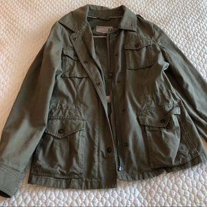BANANA REPUBLIC Safari Jacket Olive Green 4 Pocket